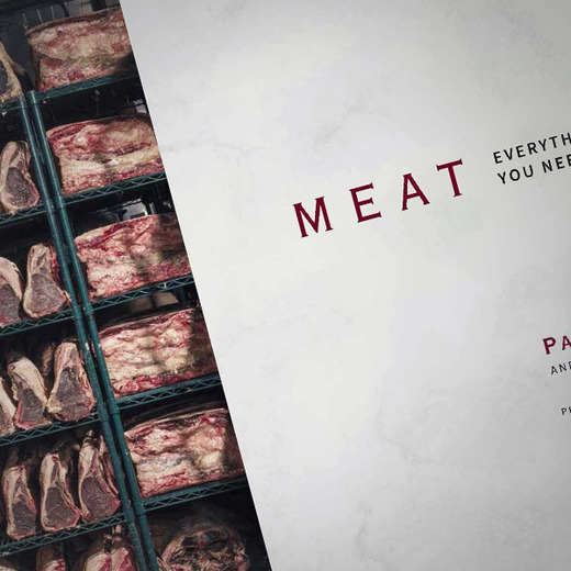Meat book over
