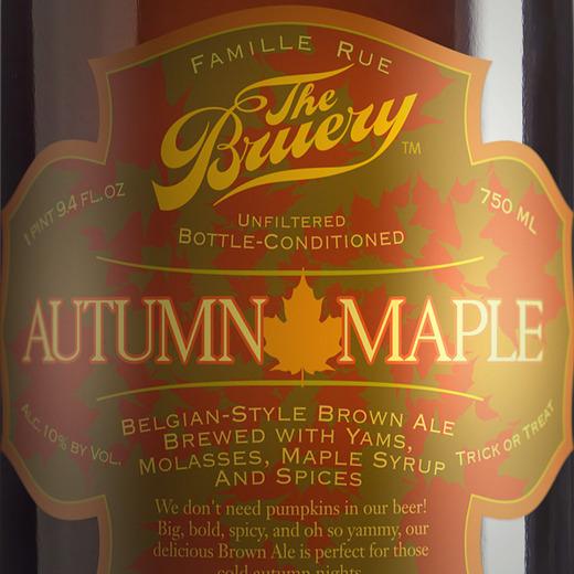 Bruery autumn beer over