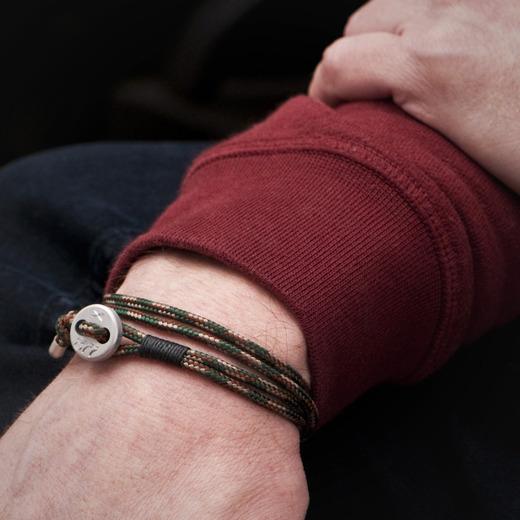 877 rope bracelet over