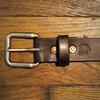 Horween Black Horsehide Belt