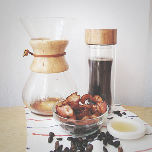 Maple bacon coffee