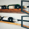 JM&Sons Wall Wine Rack