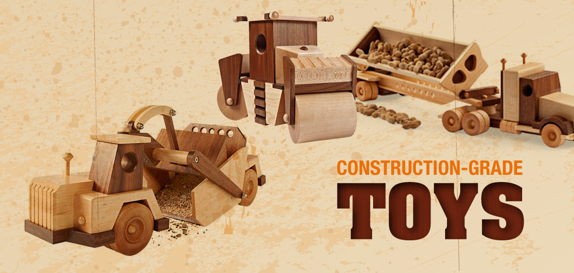 Check out the complete Construction-Grade toy set!