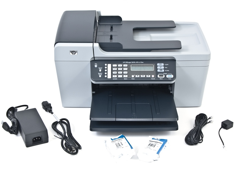Hp officejet 5610 all in one printer fax scanner copier woot