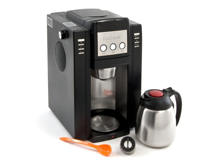 Kalorik Magic Bean 10-Cup Coffee Maker with Built-in Burr Grinder - Woot