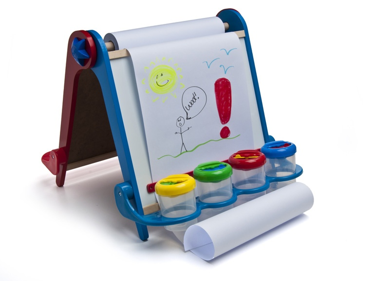 tabletop kids' easel 1