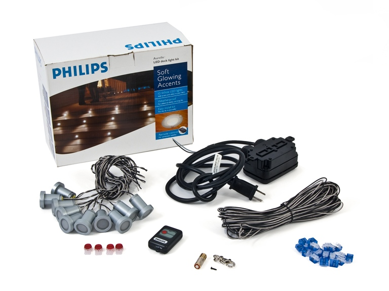 philips aurelle led deck lighting kit woot