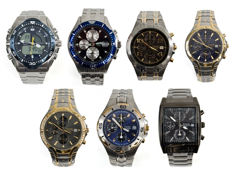 Pulsar PF3271 Watches | Date Men's Pulsar Watches PF3271 Pulsar Pulsar