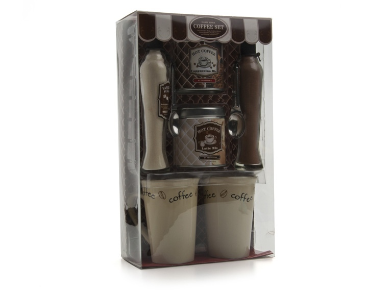 shonfeld early riser coffee gift set woot