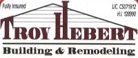 Website for Troy Hebert Building & Remodeling