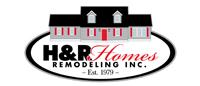 Website for H & R Homes Remodeling, Inc.
