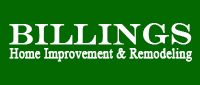 Website for Billings Home Improvement & Remodeling