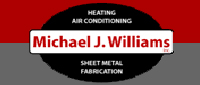 Website for Michael J. Williams Heating & Air Conditioning