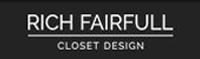 Website for Rich Fairfull Custom Closet & Storage Design