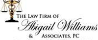 Website for Abigail Williams & Associates, LLC