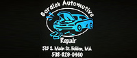 Website for Gordie's Automotive Repair