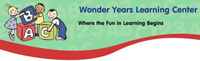 Website for Wonder Years Learning Center