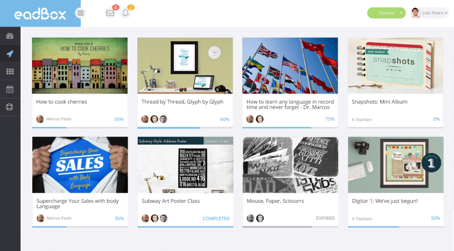 interface-estudante-plataforma-ead-eadbox