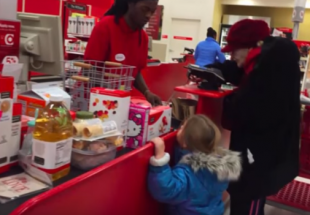 Employee's Random Act of Kindness Caught on Film