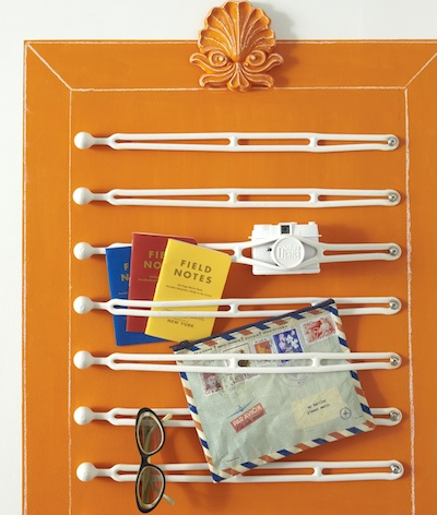 Small Space Storage Solution - Rubber Boating Straps