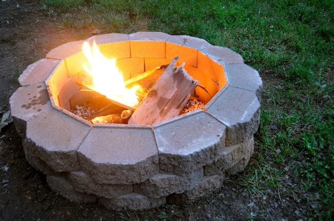 how to build a fire pit in your backyard bob vila