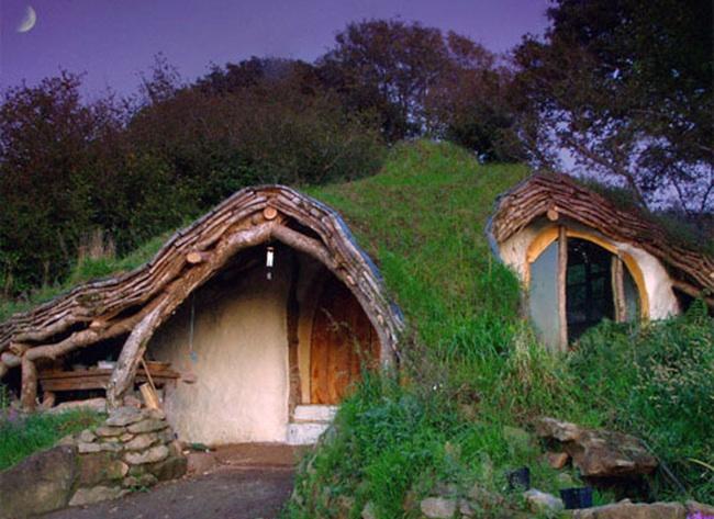 Earthen homes bob vila for Earth bermed homes
