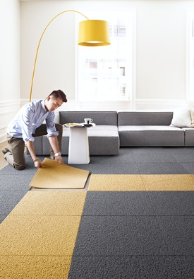 Carpet Tiles - Installation