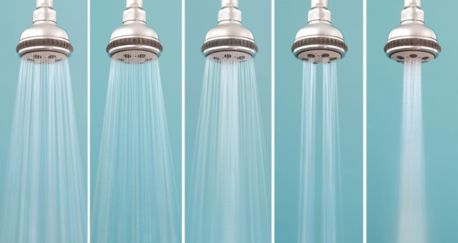 How to choose a shower head bob vila Low water pressure in bathroom