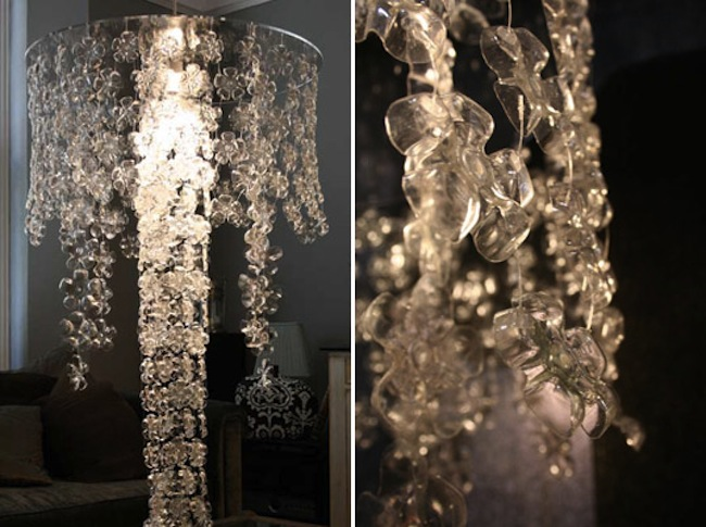 Reuse Plastic Bottles - Chandelier