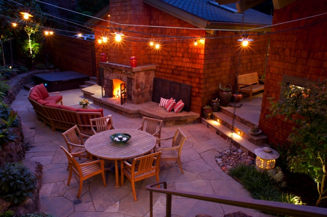 Outdoor Room Design - Lighting