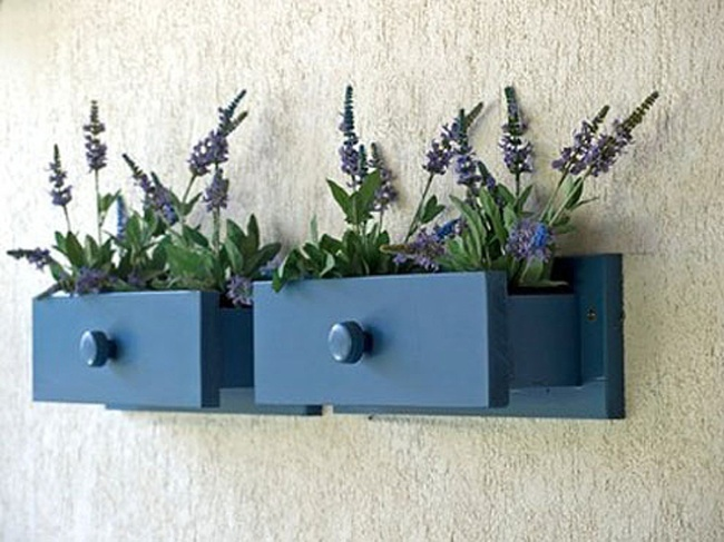 Repurpose Drawers - Planter