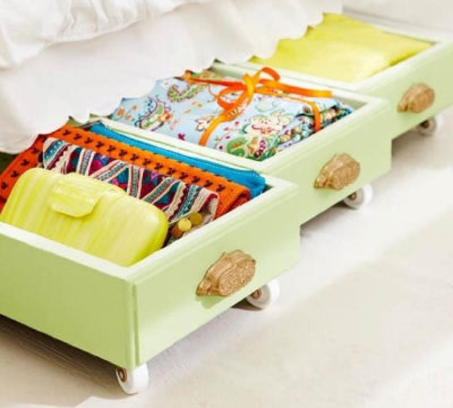 Repurpose Drawers - Underbed Storage