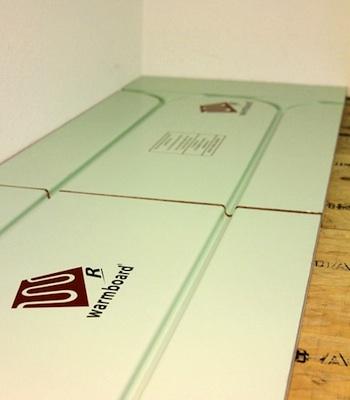 Retrofit Radiant Floor Heating - Warmboard