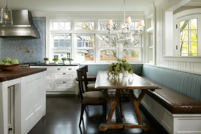 Kitchen Remodeling Design Tips - Banquette