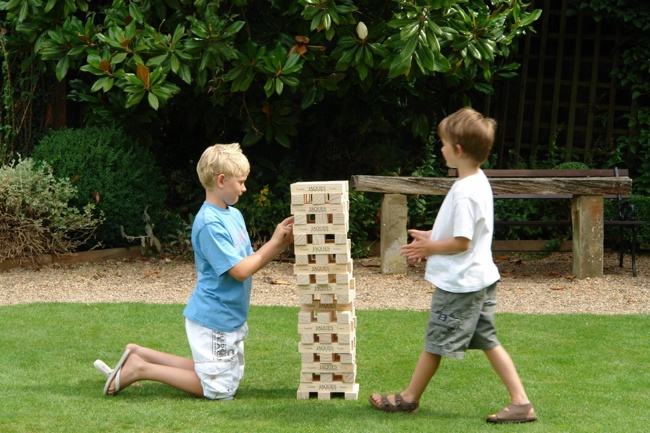 DIY Wood Games - Giant Jenga