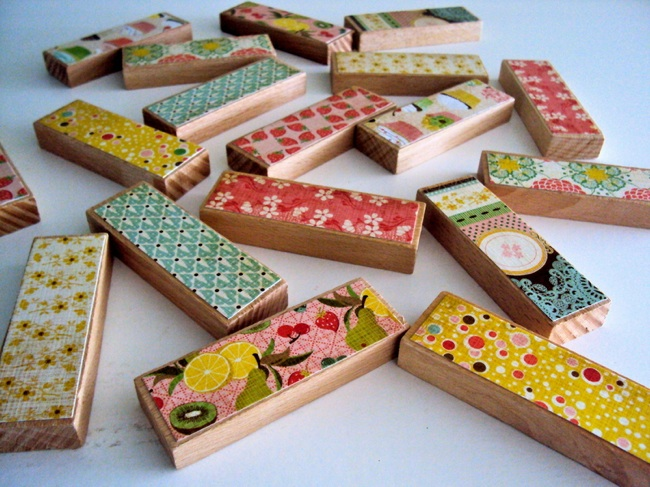 DIY Wood Games - Memory