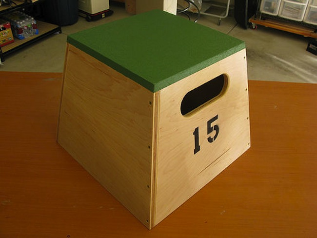 DIY Gym - Plyometric Box