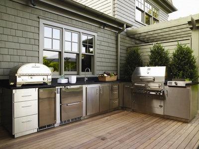 Dream House ideas - Outdoor Kitchen