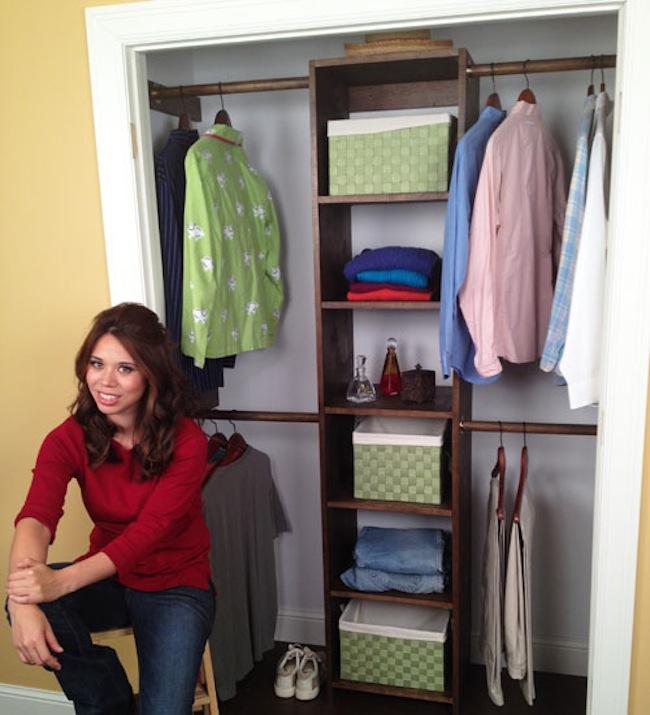 DIY Closet Organizer - Plywood