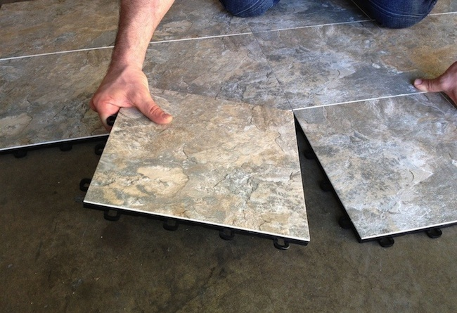 Basement flooring 101 bob vila for Modular wood flooring