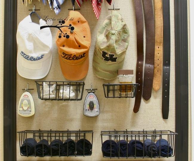 DIY Closet Organizer - Pegboard