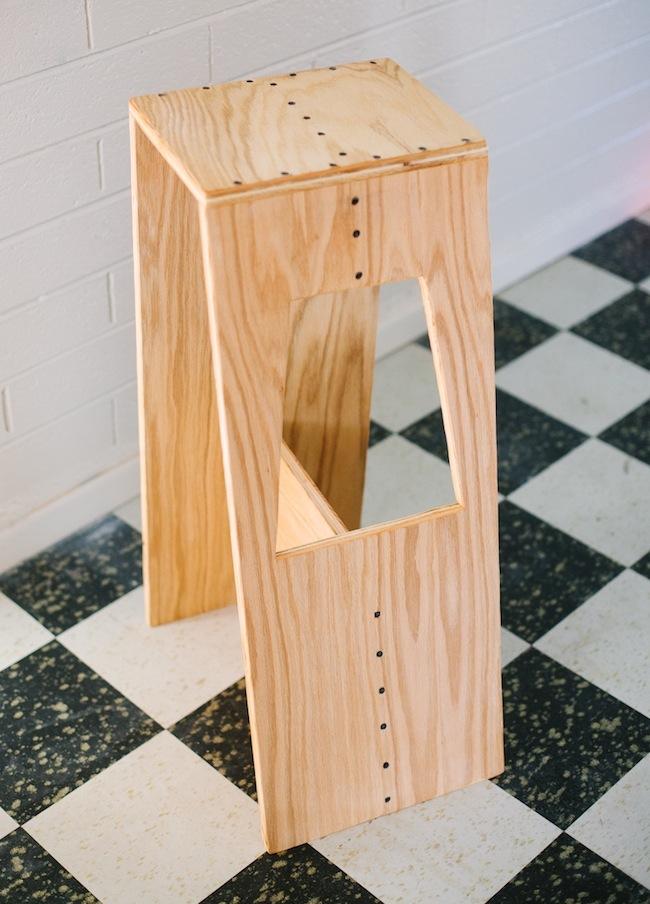 DIY Stool 5 You Can Make Bob Vila : plywood stools from www.bobvila.com size 650 x 904 jpeg 151kB