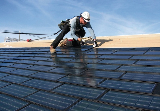 Solar Shingles - Installation