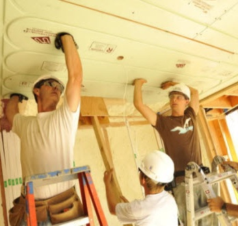 Warmboard Ceiling Installation