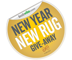 New Year New Rug Give-Away