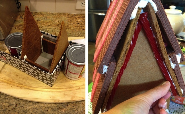 How to Make a Gingerbread House - Jig and Roof