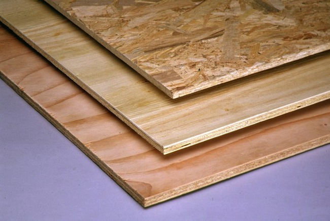 Subflooring and subfloor products bob vila for Roof sheathing material options