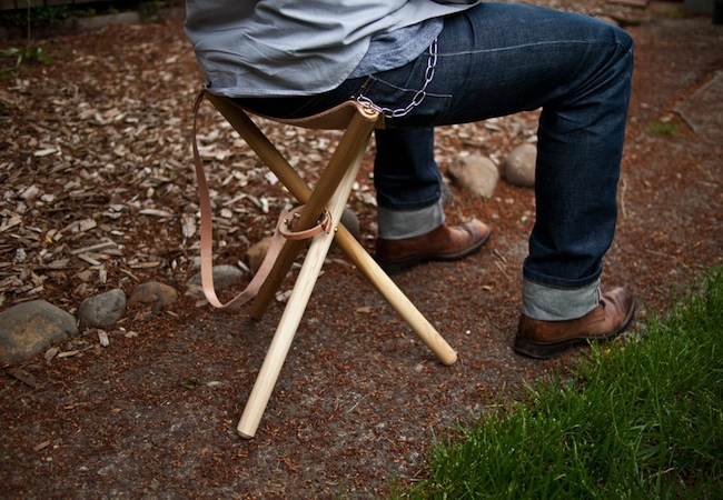 Uses for Dowels - Camp Chair