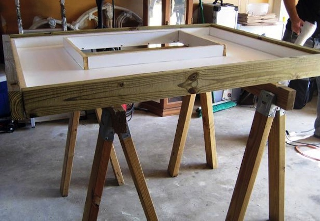 How to Make Concrete Countertops - Form