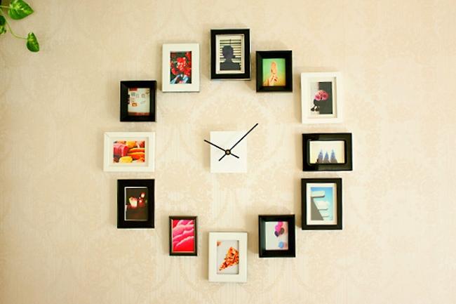 DIY Clock - Frames